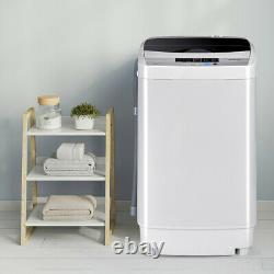 2 IN 1 Top Load Automatic Washing Machine Washer Spin Dryer LED Display 4.5KG