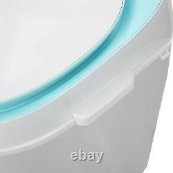 3kg Green Portable Washing Machine Compact Mini Laundry Washer Baby Lingerie
