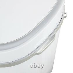 4.6kg Mini White Portable Washing Machine Compact Laundry Washer Spin Dryer Baby