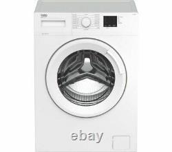 BEKO WTK84011W 8kg 1400 Spin Washing Machine Quick Wash White