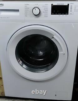 Beko WTB1041R4W 10 kg 1400 Spin Washing Machine White Grade C
