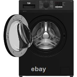 Beko WTL74051B 7kg 1400rpm Freestanding Washing Machine Black