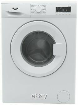 Bush WMDF612W Free Standing 6KG 1200 Spin Washing Machine A++ White