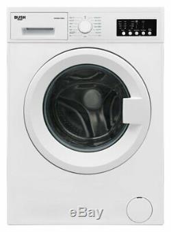 Bush WMNB1012EW Free Standing 10KG 1200 Variable Spin Washing Machine A+++ White