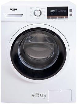 Bush WMNBX1014W Free Standing 10KG 1600 Spin Washing Machine A+++ White