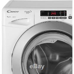 Candy GVS169DC3B Grand'O Vita A+++ Rated 9Kg 1600 RPM Washing Machine Black New