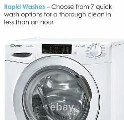 Candy Smart Pro 1014C Free Standing 10KG 1400 Spin Washing Machine A+++ White