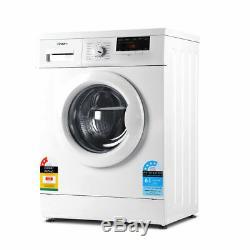 Devanti 7kg Front Load Washing Machine Quick Wash 24h Delay Start Automatic