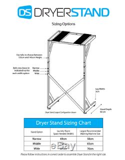 Dryer Stand Washing Machine and Dryer Stand Tumble Dryer Stand Shelves