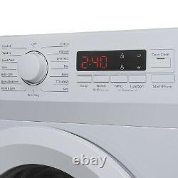 ElectriQ 7kg 1400rpm Freestanding Washing Machine White