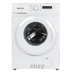 ElectriQ 8kg 1400rpm Freestanding Washing Machine White