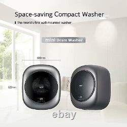English Control&Manual Wall Mountable Washer mini Daewoo DWD-M253CW