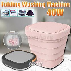 Folding Mini Portable Washing Machine Laundry Clothes Machine Automatic Clean