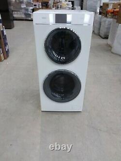 HAIER Duo HWD120-B1558U WiFi-enabled 12 kg Washer Dryer White #LF21732