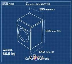 HOTPOINT Aquarius WMAQF721P Washing Machine White Currys