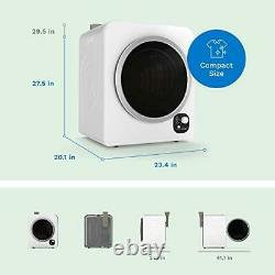 HOmelabs Compact Portable Laundry Clothes Dryer Machine Front Loading Timer