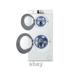 Haier HW120-B1558 60cm White DuoDrum 12kg 1500rpm Washing Machine RRP £1499