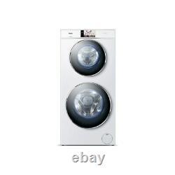 Haier HW120-B1558 DuoDrum 12kg 1500rpm Freestanding Washing Machine-White (5099)
