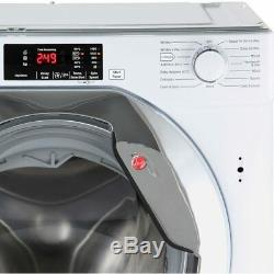 Hoover HBWM914DC Built-in Washing Machine 9kg, 1400 Spin, LED, A+++ Energy
