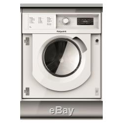 Hotpoint BIWMHG71484 Integrated 7kg 1400rpm Washing Machine A+++ Energy Rating