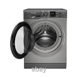 Hotpoint NSWM943CGGUKN 9kg 1400rpm Freestanding Washing Machine Graphite