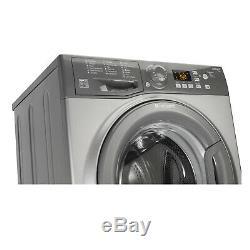 Hotpoint WMFUG742G Washing Machine, 7 kg Load, 1400 RPM Spin Speed Graphite