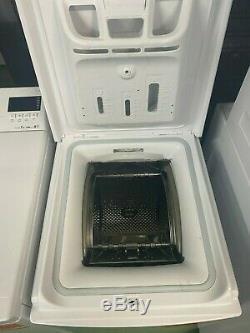 Hotpoint WMTF722H UK top loading slim washing machine. New & guaranteed