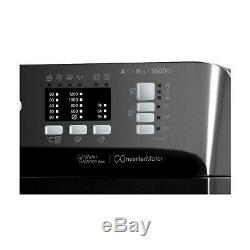 Indesit BWA81683XK Washing machine, 8 Kg Wash Load, 1600 RPM Spin Speed Black
