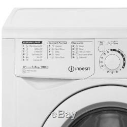 Indesit EWD81482W My Time A++ Rated 8Kg 1400 RPM Washing Machine White New