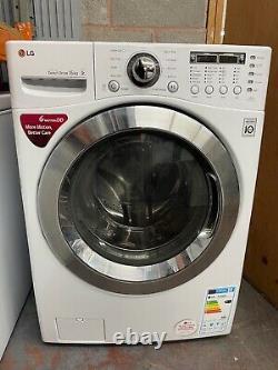 LG F1255FD 15kg 1200rpm Freestanding Washing Machine White