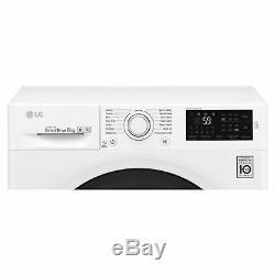 LG F4J608WN 8kg 1400rpm Washing Machine