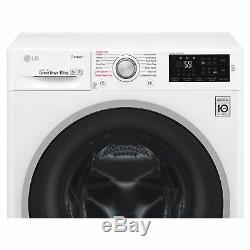 LG F4J610WS 10kg 1400rpm Washing Machine