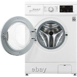 LG F4MT08WE 6 Motion Direct Drive 8kg 1400rpm Freestanding Washing Machine Whi