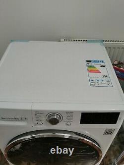 LG TurboWash FH4U2VCN2 9 kg 1400 Spin Washing Machine White #4201106