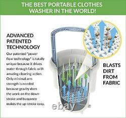 Lavario Portable Clothes Washer Manual Non-Electric Portable Washing Machine