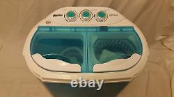 Leisure Direct 230v Twin Portable Washing Machine For Students Spin Function