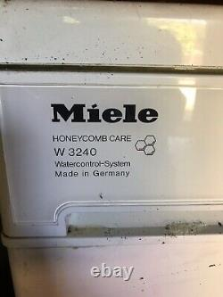 Miele Washing Machine W3240 Honeycomb Care