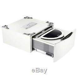 NEW Open Box 27 in. 1.0 cu. Ft. SideKick LG Pedestal Washer WHITE WD100CW