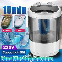 Portable 4.5Kg Mini Lazy Compact Washing Shoes Brush Machine Baby Home Dorm