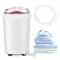 Portable Washing Machine Single Tub Compact Laundry Washer Machine Spin & Dryer