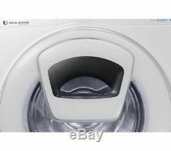 SAMSUNG AddWash WW80K5410WWithEU 8 kg 1400 Spin Washing Machine White Currys