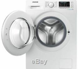 SAMSUNG ecobubble WW80J5555DW 8 kg 1400 Spin Washing Machine White Currys