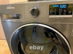 Samsung Eco Bubble Digital Inverter 9kg Add Wash Grey & Navy Washing Machine