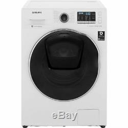 Samsung WD80K5B10OW AddWash ecobubble Free Standing 8Kg B Washer Dryer White