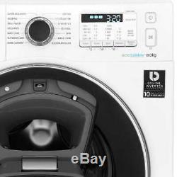 Samsung WW80K5413UW AddWash ecobubble A+++ Rated 8Kg 1400 RPM Washing Machine