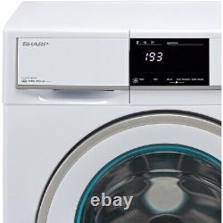 Sharp ES-HFB9143W3-EN A+++ Rated 9Kg 1400 RPM Washing Machine White New