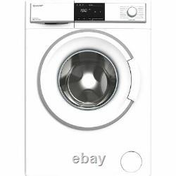 Sharp ES-HFB9143WD-EN D Rated 9Kg 1400 RPM Washing Machine White New
