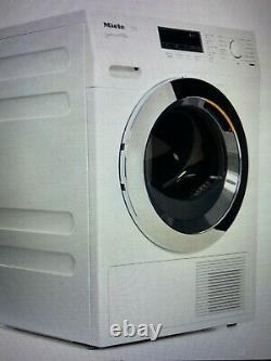 Stackable Miele wkh122wps Washing Machine + miele tkr850wp dryer +stacking kit