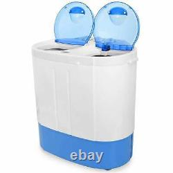 Washing Machine Spin Dryer Camping Laundry Spin Portable Mini Travel Washer 2kg