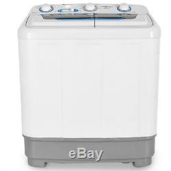 Washing machine Camping Spin Dryer 4.8 kg Quiet Clean Laundary Washer White